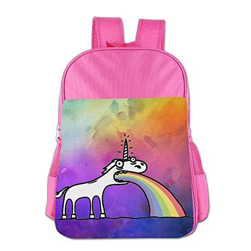 Always Be A Unicorn Children Schoolbag School Bag School Bagpack Bag For 4-15 Years Old Pink S4
