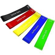Fitnessbänder Pull Up Resistance Band Fitnessband von Techrise Fitness + Trainingsguide - DAS Klimmzug Widerstandsband - Klimmzughilfe Klimmzugband
