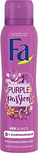 FA Deospray Purple Passion Veilchenblüten-Duft, 6er Pack (6 x 150 ml)