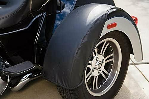 Mutazu Rear Trike Outlet sale feature Fender Bra for gift Set Sold Black Harley-Davidson
