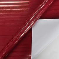 ラッピングペーパー-ZhangGe カップルの友人の隣人ギフトショップ76 * 305CM 1ロールに適し誕生日ギフト包装紙の防水カラー手漉き紙 多機能使用 (Color : 3, Size : 305*76CM)