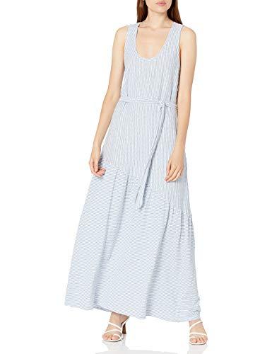 Lucky Brand Women's Short Sleeve Crew Neck Boardwalk Knit Shirt Dress
