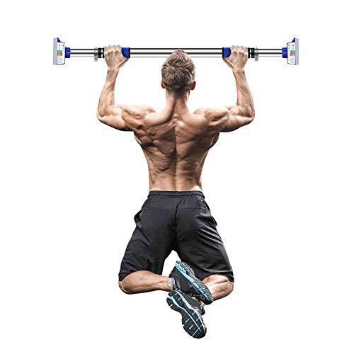 WXYZ Pull-Up Bar Inicio Gimnasio Barra De Dominadas, Barra De Fitness De Entrenamiento De Fuerza Masculina Y Femenina con Cerradura De Seguridad, 73-94cm, 92-125cm, 110-140cm (Size : 110-140cm)