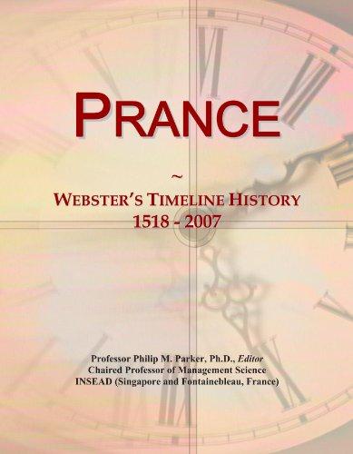 Prance: Webster's Timeline History, 1518 - 2007