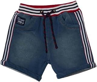 Little Kangaroos Boys Denim Shorts, Denim Blue - ROGS2019165B