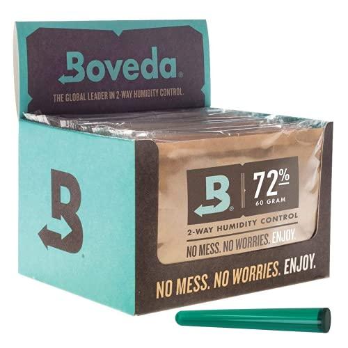 kogu Boveda Humidipak 72{b805b8405ff18a5805a094287055bb5298ba34a09129b6be4b8633bdd3b3b9d5} 60 g - 12 Packungen inkl. J.Hülle