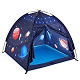 Gentle Monster Play Tent for Kids, Space World Tent, Pop Up Tent for Boy's Gift, Toddlers Universe Playhouse Tents Suitable for Indoor or Outdoor Use - 47' x 47' x 43' Large