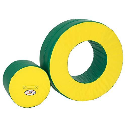 %5 OFF! Foamnasium Circle in Circle, Yellow/Green
