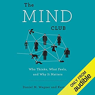 The Mind Club audiobook cover art