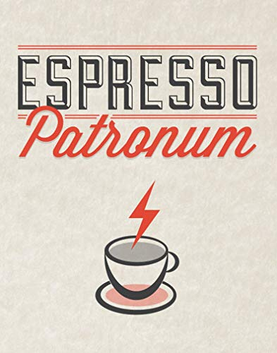 Wiard Print Espresso Patronum Gifts for Lovers Poster Poster Home Art Wall Posters [No Framed]