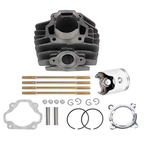 FEIPARTS Cylinder Piston Gasket Top End Kit fit for 1983-2006 Yamaha PW80 Cylinder Head 1W7-11181-00-00