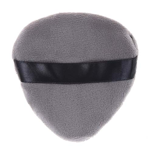 Tide brand tribe 1pcs Makeup Foundation Sponge Makeup Cosmetic Puff Powder Smooth Beauty Cosmetic Make Up Sponge Puff (Color : Grey)