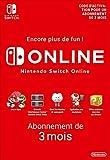 Abonnement Nintendo Switch Online - 3 Mois | Nintendo Switch - Version digitale/code | Code jeu à télécharger