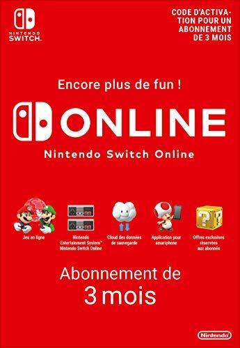 Nintendo Switch Online - Abonnement 3 Mois | Code de téléchargement (Switch)