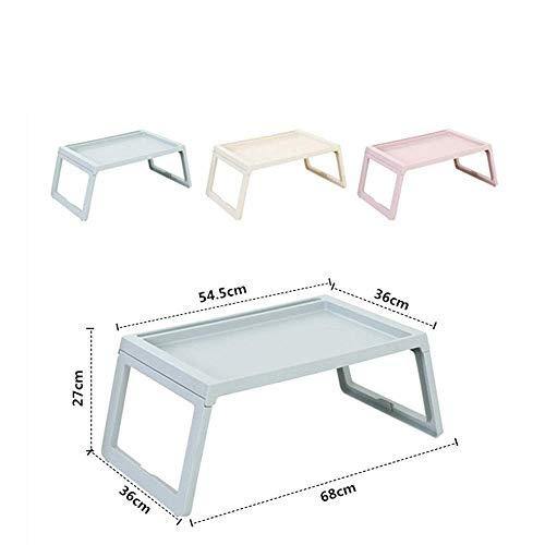 Fanuosu-Sp Goede salontafel, tafellamp, telefoontafel, bijzettafel, eiken tafel, inklapbaar, draagbaar, outdoor, klaptafel, solide kleur bureau Los 68x36x27cm Regulable