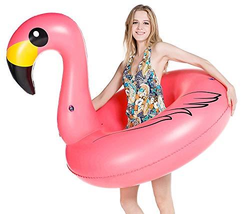 Jasonwell Giant Inflatable Flamingo Pool Float