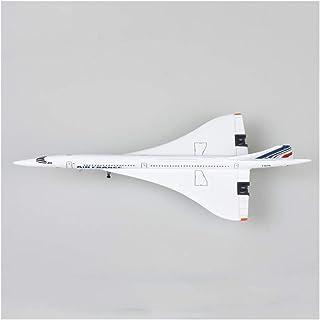 1/400コンコルドエールフランスの飛行機モデルの1976年から2003年旅客機合金ダイカストキッズコレクション飛行機モデルのおもちゃギフト D-20-8-07
