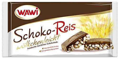 WAWI Schoko Reis Zartbitter, 8er Pack (8 x 200 g)