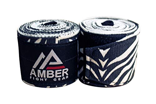 Amber Fight Gear Mexican Style 200 Elastic Handwraps Mexican Style Elastic Handwraps