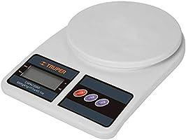 Truper BASE-5EP Báscula digital base plástica para cocina capacidad 5kg, color, pack of/paquete de 1