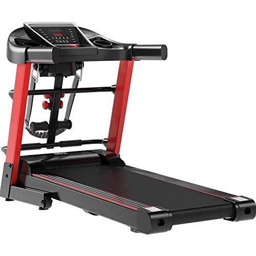 Cinta de correr plegable eléctrica  Easy Montaje Fitness Máquina de jogging de funcionamiento motorizada, máquina de caminata de alta potencia multifuncional, Equipo de aptitud de pérdida de peso Pen