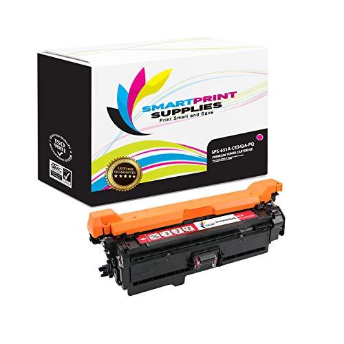 Smart Print Supplies Compatible 651A CE343A Magenta Premium Toner Cartridge Replacement for HP Color Laserjet MFP M775 M775D, Enterprise 700 M775DN M775F M775Z+ Printers (16,000 Pages)