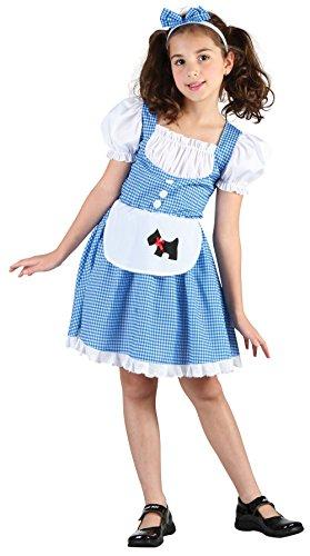 Bristol Novelty CC937 Dorothy Fairy Tale Girl Costume, Mediu