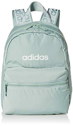 adidas Women's Linear 2 Mini Backpack Small Travel Bag, Orbit Violet Purple/Violet Tone Purple, One Size
