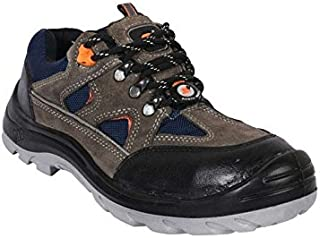 Hillson Leather Tech Z+1 Steel Toe Safety Shoes-6