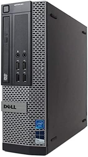 (Renewed) DELL Optiplex 7010 Desktop Computer - Intel Core i7 Up to 3.8GHz Max Turbo Frequency, 16GB DDR3, New 1TB SSD, Windows 10 Pro 64-Bit, WiFi, USB 3.0, DVDRW, 2X Display Port