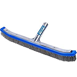 "Heavy Duty 18"" Aluminum Premium Pool Brush by Aquatix Pro"