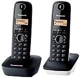Panasonic KX-TG1612 - Teléfono Fijo inalámbrico Dúo...
