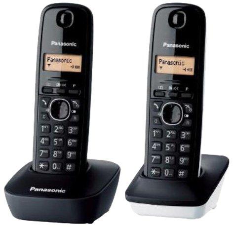 Panasonic KX-TG1612 - Teléfono Fijo inalámbrico Dúo (LCD, identificador de...