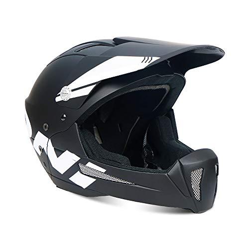 QXFJ Fahrradhelm für Kinder,Kinderfahrradhelm Kinder Sporthelm Kinder-Helm rollerhelm Integralhelm Kinderhelm Rutsche Babyreithelm 52-56cm