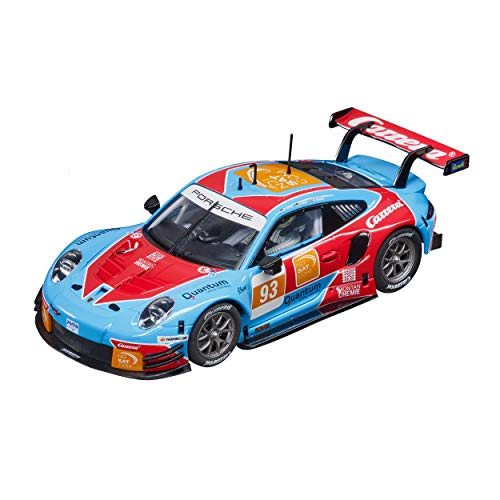 Carrera Digital 132 Porsche 911 RSR - Carrera No.93 | Slotcar für Rennbahn | Front- & Rücklicht & Bremslicht | Digital steuerbar | Maßstab 1:32 | Spielzeug für Kinder ab 8 Jahre & Erwachsene