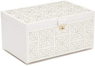 WOLF Marrakesh Large Jewelry Box, Cream