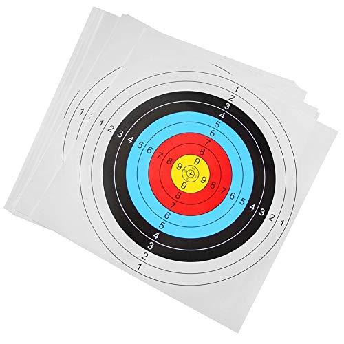 Papeles Tiro a La Diana Flechas Tiradas De Destino para La Exactitud De Interior Flecha Arco Dardo Aire Libre Que Entrenan para La Caza 30pcs
