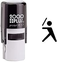 StampExpression - Baseball Self Inking Rubber Stamp - Black Ink (A-6784)
