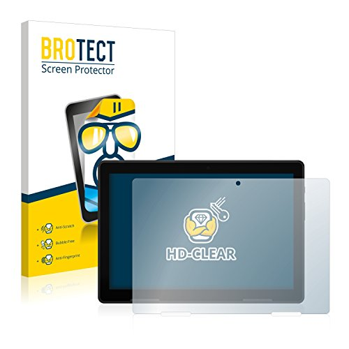 BROTECT Schutzfolie kompatibel mit Medion Lifetab E10604 (MD 61041) (2 Stück) klare Bildschirmschutz-Folie