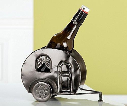 GILDE Bier Flaschenhalter 'Campingwagen', 20 cm