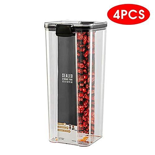 Recipiente Hermetico Recipiente Microondas Cristal Tapers Para Comida Hermetico 700/1300 / 1800Ml Contenedor De Almacenamiento De Alimentos Plástico Cocina Refrigerador Caja De Fideos Tanque De Almac