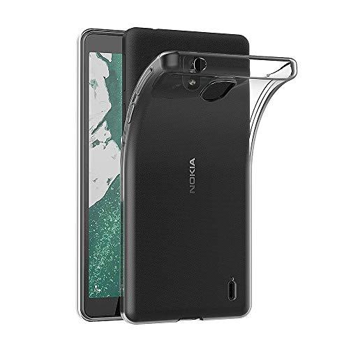AICEK Hülle Compatible für Nokia 1 Plus Transparent Silikon Schutzhülle für Nokia 1 Plus Hülle Clear Durchsichtige TPU Bumper Nokia 1 Plus Handyhülle (5,45 Zoll)
