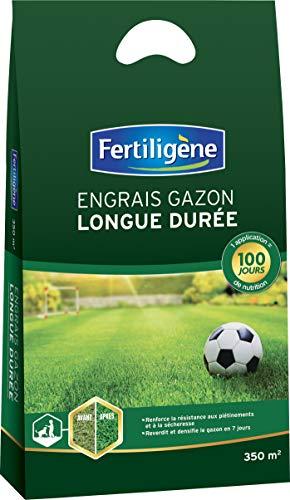 Fertiligene Engrais Gazon 100 Jours 7Kg, Vert, 53 x 28 x 28 cm