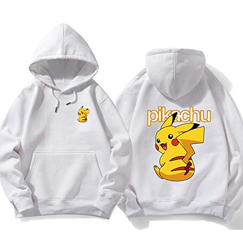 T.M.R.W. Clothing Pullover Zurück Pikachu Kapu Straße Hip Hop Street Fashion Jersey Long Sleeve Top-Liebhaber A-S