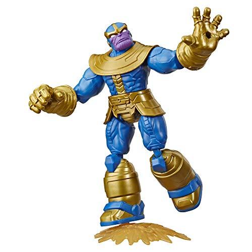 Avengers Bend and Flex Figura Thanos 15 Cm (Hasbro E83445X0) , Color/Modelo Surtido