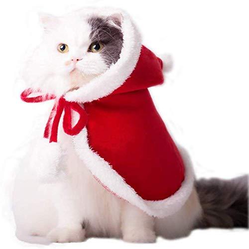 Capa Ropa de Navidad para Perros Gatos, Papa Noel Disfraces...