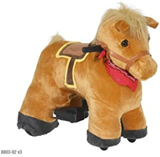STABLE BUDDIES CHESTNUT Ride on Pony 6V ( 2 to 5 years )