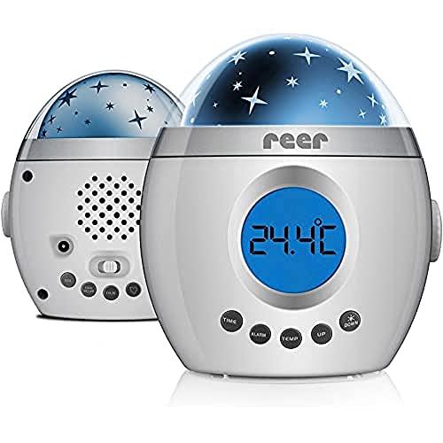 reer 52050 MyMagicStarlight Einschlaflicht mit Sternenprojektor und Musikfunktion