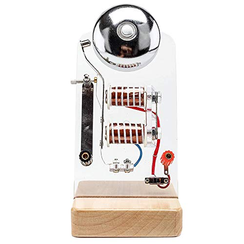 LUCKFY Elektrische Bell Model-Elektro physikalisches Prinzip Experiment Demonstration für experimentelles Lehrinstrument Educational Vorführmodell