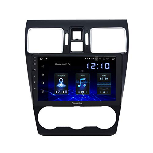 "Dasaita 9"" Android 10.0 Car GPS Radio for Subaru Forester/WRX 2016 2017 2018 Carplay Audio Video Player 4G RAM 64G ROM Build in Carplay/Android Auto/DSP/WiFi"